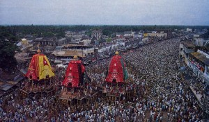 Ratha Yatra in Jagannatha Puri